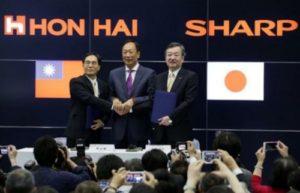 台湾企業によるシャープ買収