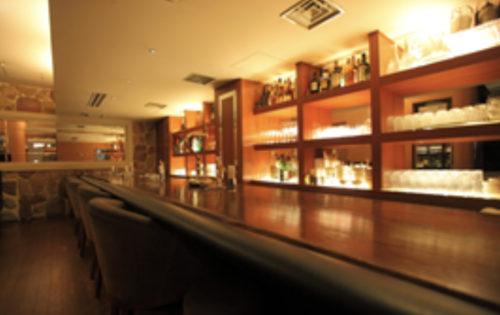 銀座クラブソシエのバーカウンター