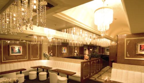 銀座のニュークラブ、オルフェ(orphee)の店内画像その2