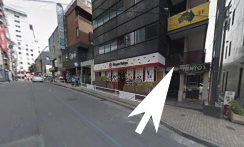 六本木アンシャンテ入口