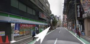 恵比寿アネックスへの道3