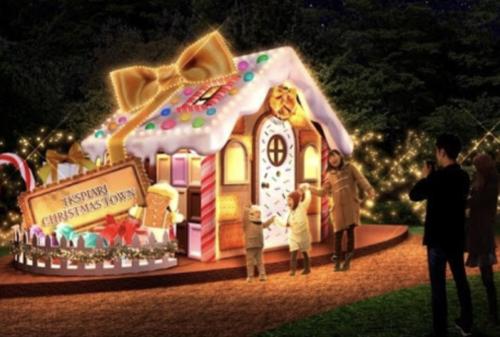 イクスピアリのお菓子の家