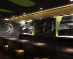 銀座の高級クラブ、クラブオー(clubo)の店内画像
