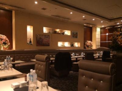 銀座のキャバクラ、クラブ咲の店内画像