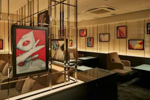 恵比寿ラウンジ、インタイトルの店内画像