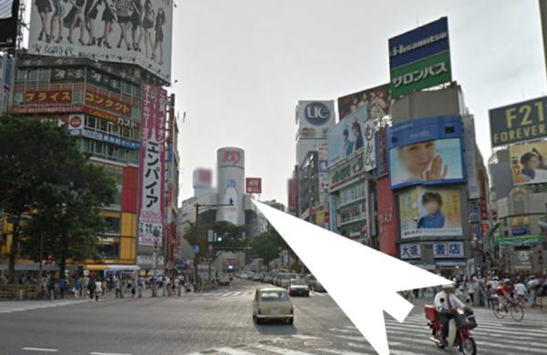 渋谷キャバクラ『ジェイ』への通のり