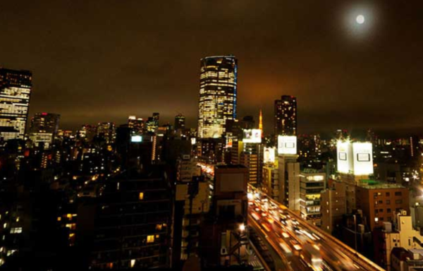 西麻布の街風景