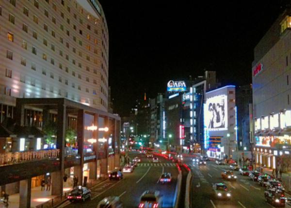 赤坂の街風景