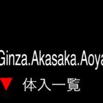 銀座・赤坂・青山ラウンジのバイト体入の一覧情報