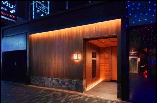 新宿歌舞伎町「ハナビ」のあるビル外観